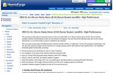http://www.howtoforge.com/high-performance-xen-on-ubuntu-8.04-amd64