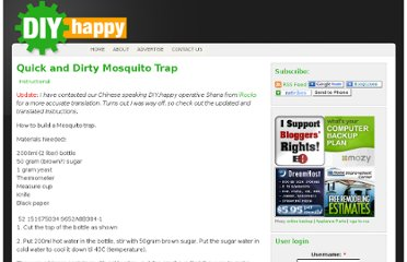 http://www.diyhappy.com/quick-and-dirty-mosquito-trap/