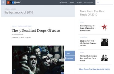 http://www.npr.org/2010/12/31/132490270/the-5-deadliest-drops-of-2010