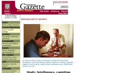 http://www.news.harvard.edu/gazette/2001/10.11/marijuana.html
