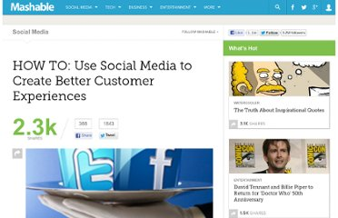 http://mashable.com/2011/01/02/social-media-customer-experience/
