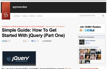 http://spyrestudios.com/simple-guide-how-to-get-started-with-jquery/