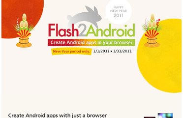 http://wonderfl.net/flash2android