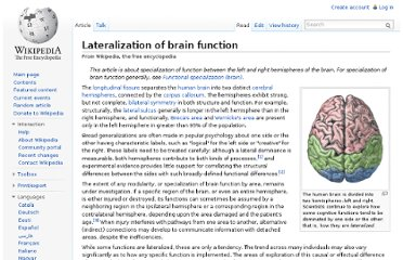 http://en.wikipedia.org/wiki/Lateralization_of_brain_function#Exaggeration