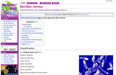 http://microbewiki.kenyon.edu/index.php/Bacillus_cereus