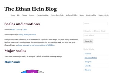 http://www.ethanhein.com/wp/2010/scales-and-emotions/