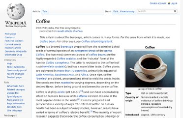 http://en.wikipedia.org/wiki/Health_effects_of_coffee#Risks