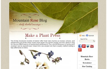 http://mountainroseblog.com/plant-press/