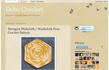 http://debs1967.blogspot.com/2010/06/hexagon-washcloth-free-crochet-pattern.html