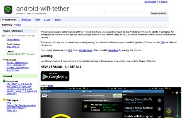 http://code.google.com/p/android-wifi-tether/
