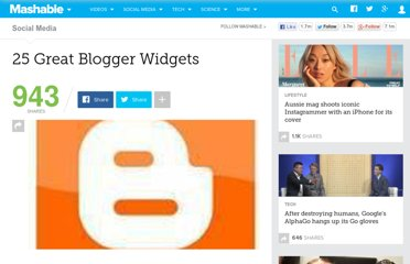 http://mashable.com/2009/01/26/blogger-widgets/