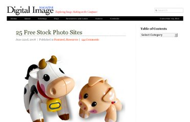 http://www.digitalimagemagazine.com/blog/featured/25-free-stock-photo-sites/