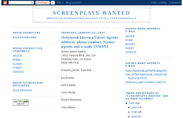 http://screenplayshollywood.blogspot.com/2007_01_01_archive.html