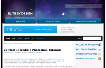 http://elitebydesign.com/23-most-incredible-photoshop-tutorials/