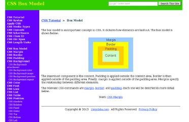http://www.1keydata.com/css-tutorial/box-model.php