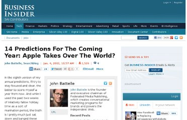 http://www.businessinsider.com/predictions-2011-2011-1
