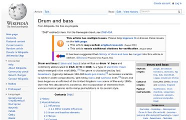 http://en.wikipedia.org/wiki/Drum_and_bass