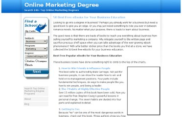 http://www.onlinemarketingdegree.org/50-best-free-ebooks-for-your-business-education