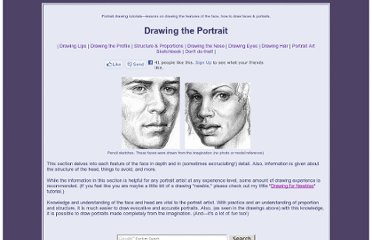 http://www.portrait-artist.org/face/index.html