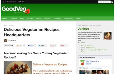 http://www.squidoo.com/groups/vegetarian-recipes