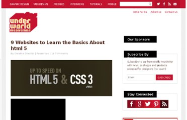 http://www.underworldmagazines.com/9-websites-to-learn-the-basics-about-html-5/