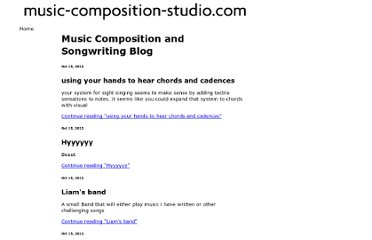 http://www.music-composition-studio.com/music-composition-blog.html