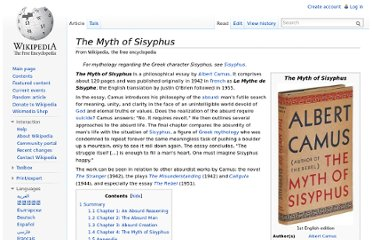 http://en.wikipedia.org/wiki/The_Myth_of_Sisyphus