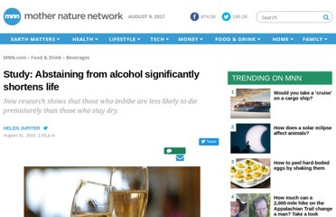 http://www.mnn.com/food/beverages/stories/study-abstaining-from-alcohol-significantly-shortens-life