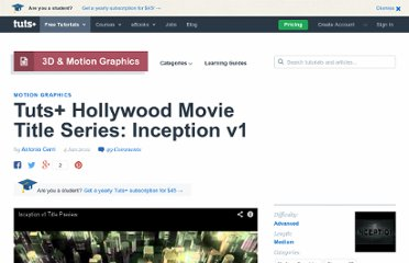 http://ae.tutsplus.com/tutorials/motion-graphics/aetuts-hollywood-movie-title-series-inception-v1/