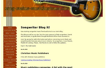http://www.song-makes-musicbusiness.com/songwriting-blog.html