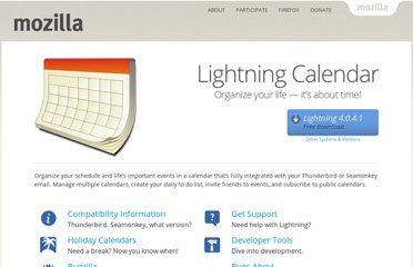 http://www.mozilla.org/projects/calendar/lightning/