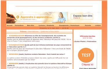 http://www.apprendreaapprendre.com/reussite_scolaire/international-systemes-education--8-18.html