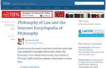 http://www.slaw.ca/2011/01/04/philosophy-of-law-and-the-internet-encyclopedia-of-philosophy/