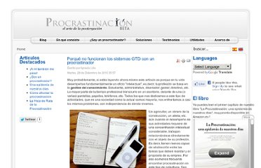 http://www.procrastinacion.org/index.php?option=com_content&view=article&id=84%3Aporque-no-funciona-gtd&catid=41%3Adescriptivos&lang=es
