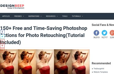 http://designbeep.com/2011/01/01/150-free-and-time-saving-photoshop-actions-for-photo-retouchingtutorial-included/