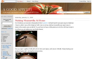 http://agoodappetite.blogspot.com/2009/01/making-mozzarella-at-home.html