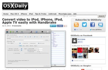 http://osxdaily.com/2011/01/04/convert-video-to-ipod-iphone-ipad-appletv/