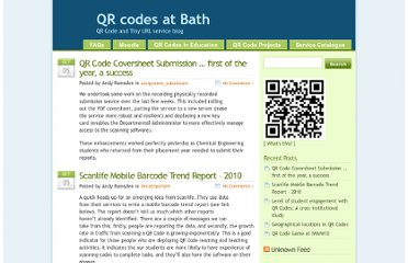 http://blogs.bath.ac.uk/qrcode/