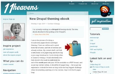 http://11heavens.com/theming-Drupal