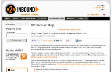 http://www.b2binbound.com/blog/bid/48179/Why-Content-Curation-Could-be-the-Best-Marketing-Idea-in-2011