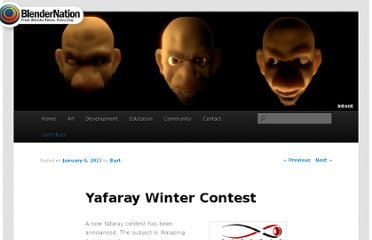 http://www.blendernation.com/2011/01/06/yafaray-winter-contest/#utm_campaign=bn-twitter&utm_medium=twitter&utm_source=twitter
