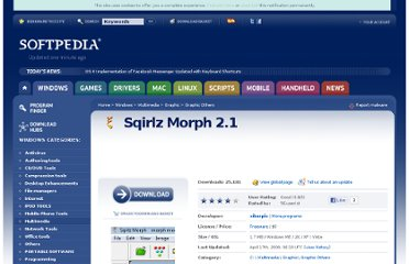 http://www.softpedia.com/get/Multimedia/Graphic/Graphic-Others/Sqirlz-Morph.shtml