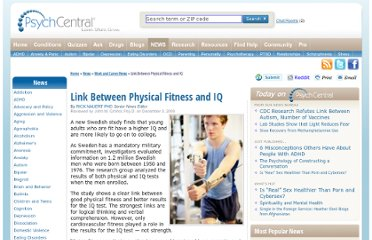 http://psychcentral.com/news/2009/12/03/link-between-physical-fitness-and-iq/9914.html