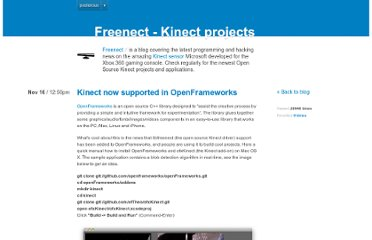 http://www.freenect.com/kinect-now-supported-in-openframeworks-cool-d
