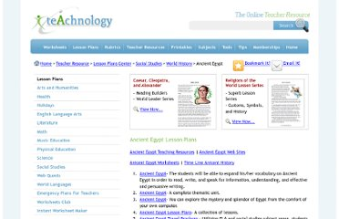 http://www.teach-nology.com/teachers/lesson_plans/history/world_history/egypt/