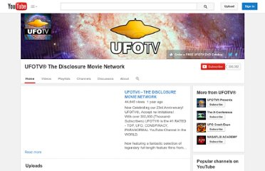 http://www.youtube.com/user/UFOTVstudios