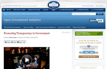http://www.whitehouse.gov/blog/2009/12/08/promoting-transparency-government