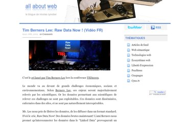 http://nicolas.cynober.fr/blog/167,tim-berners-lee-raw-data-now-video-fr.html
