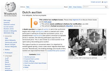 http://en.wikipedia.org/wiki/Dutch_auction