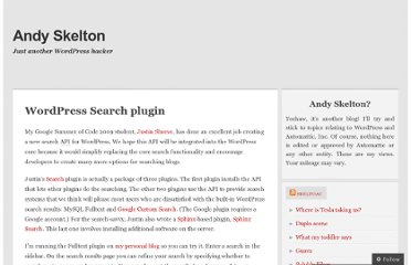 http://andy.wordpress.com/2009/08/21/wordpress-search-plugin/
